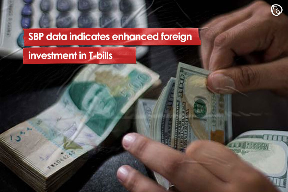 SBP data indicates enhanced foreign investment in T-bills