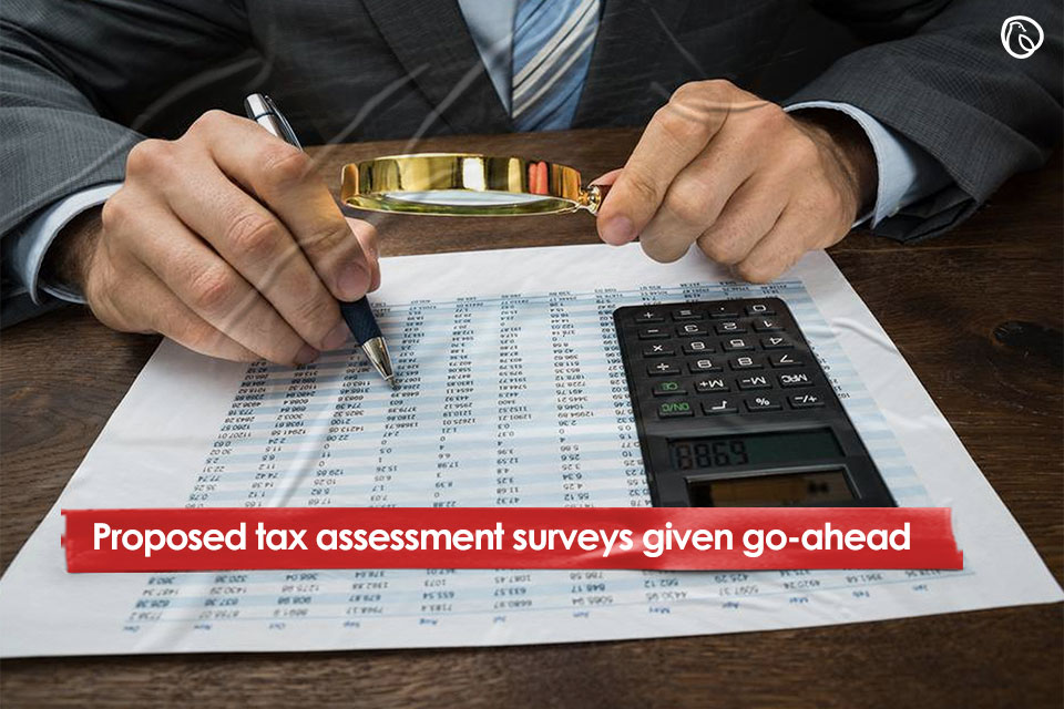 Proposed tax assessment surveys given go-ahead