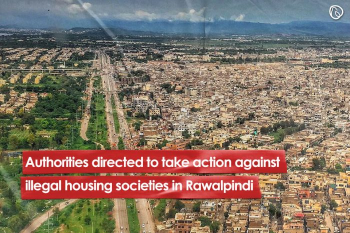Authorities directed to take action against illegal societies in Rawalpindi