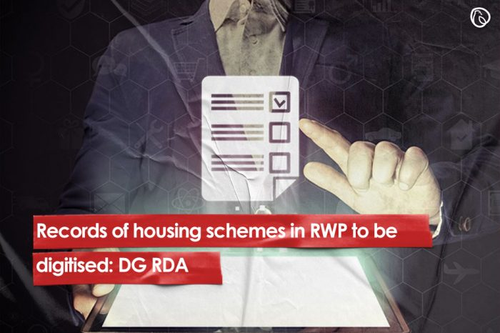 Records of housing schemes in RWP to be digitised: DG RDA