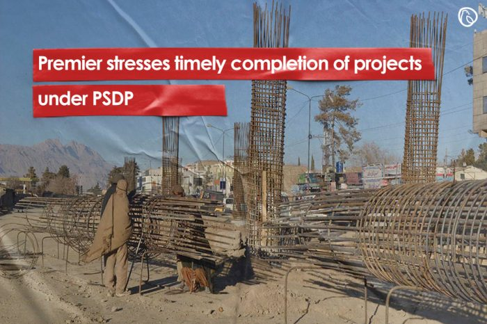 Premier stresses timely completion of projects under PSDP