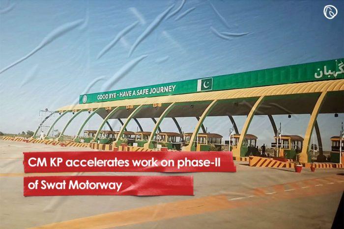 CM KP accelerates work on phase-II of Swat Motorway