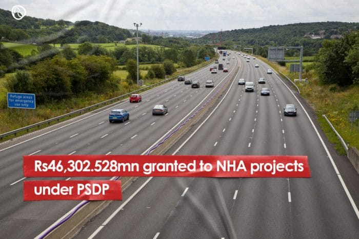 Rs46,302.528mn granted to NHA projects under PSDP