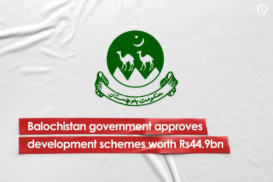 Balochistan govt approves development schemes worth Rs44.9bn