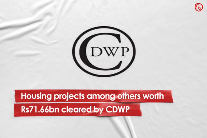 Housing projects among others worth Rs71.66bn cleared by CDWP