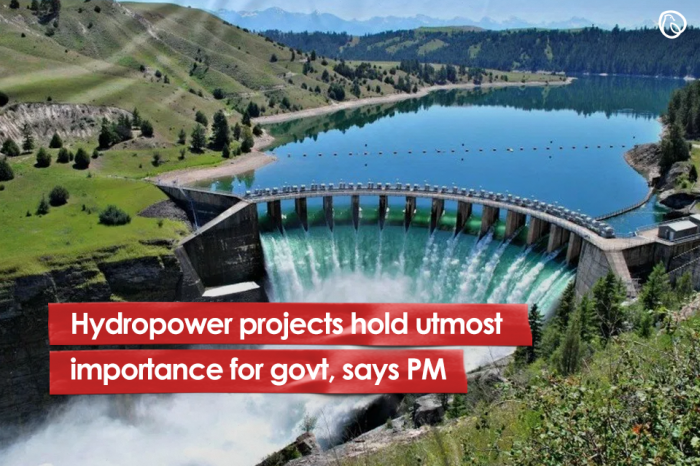 Hydropower projects hold utmost importance for govt, says PM