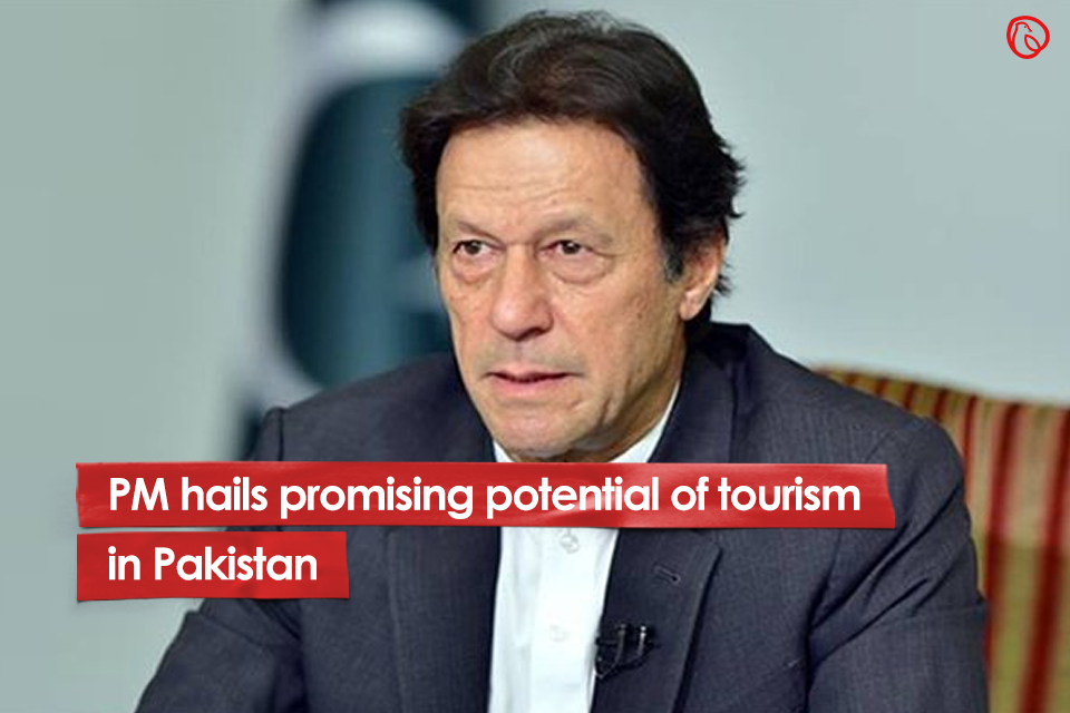 PM hails promising potential of tourism in Pakistan