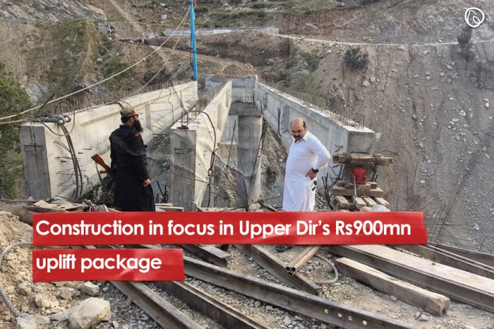 Construction in focus in Upper Dir's Rs900mn uplift package