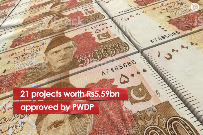 21 projects worth Rs5.59bn approved by PWDP