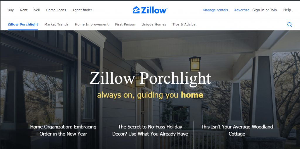 zillow porchlight real estate blog
