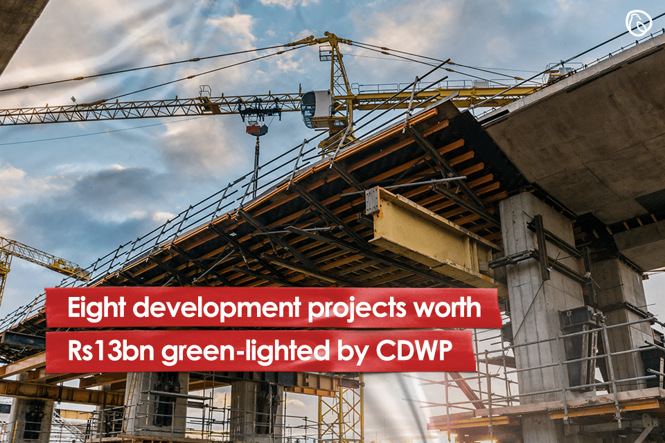 Eight development projects worth Rs13bn green-lighted by CDWP