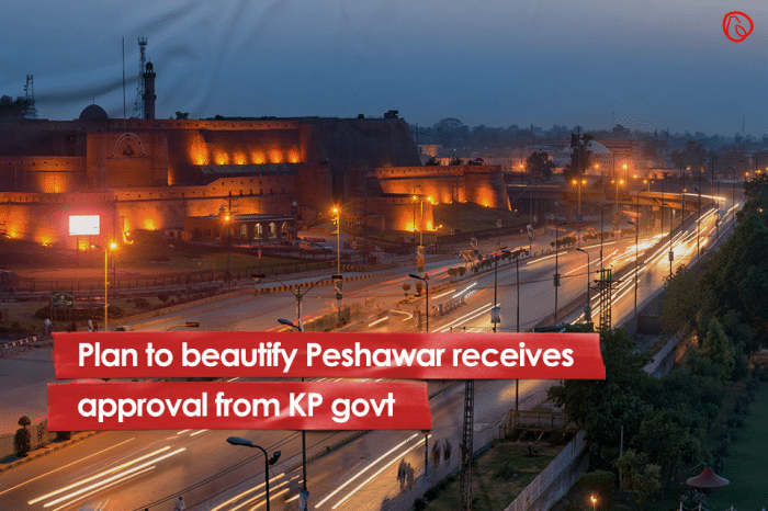 Plan to beautify Peshawar receives approval from KP govt