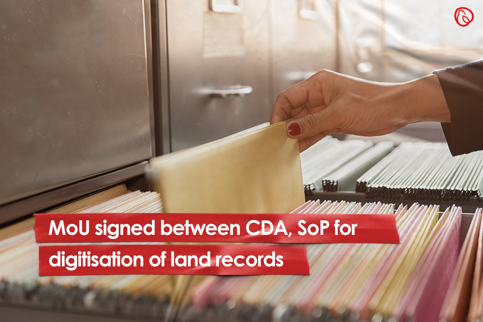 MoU signed between CDA, SoP for digitisation of land records