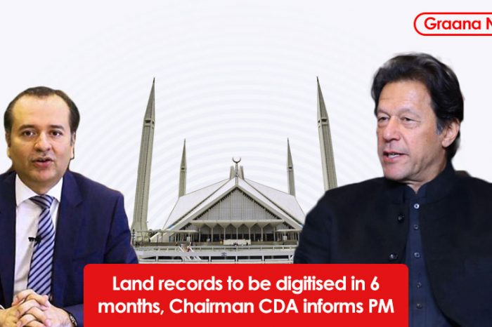 Land records to be digitised in 6 months, Chairman CDA informs PM