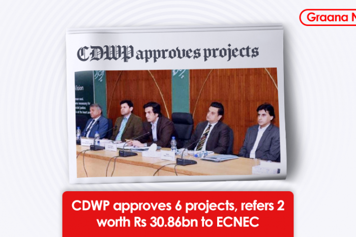 CDWP approves 6 projects, refers 2 worth Rs30.86bn to ECNEC