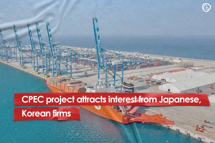 CPEC project attracts interest from Japanese, Korean firms