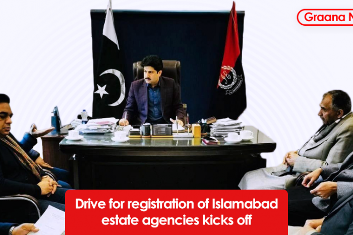 Drive for registration of Islamabad estate agencies kicks off