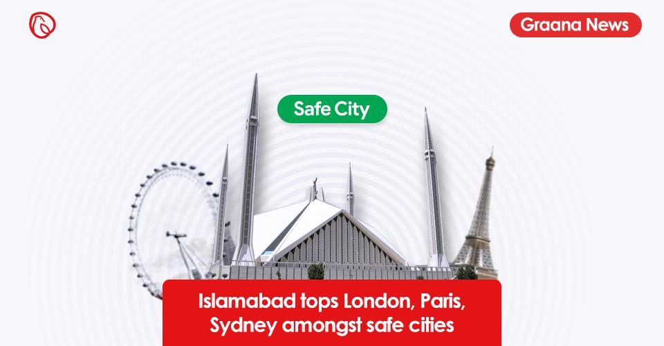 Islamabad tops London, Paris, Sydney amongst safe cities