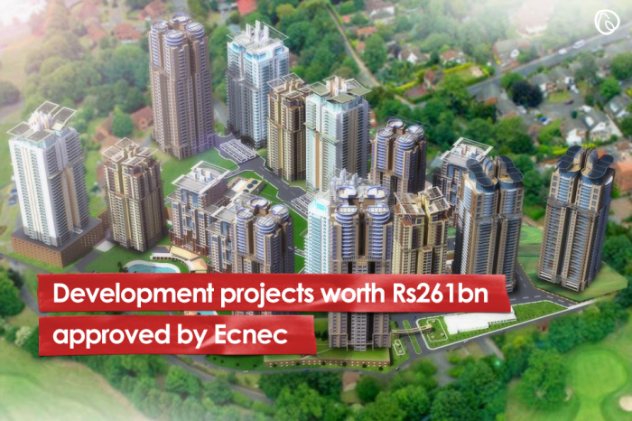 Development projects worth Rs261bn approved by Ecnec
