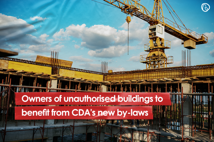 Owners of unauthorised buildings to benefit from CDA's new by-laws