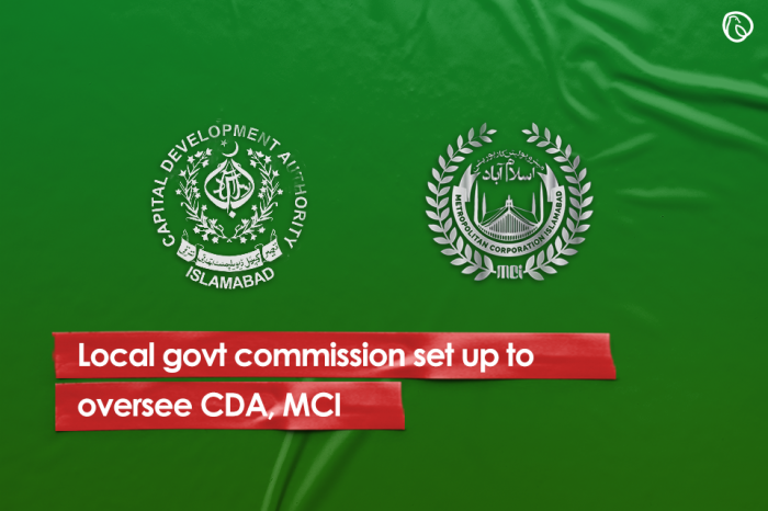 Local govt commission set up to oversee CDA, MCI