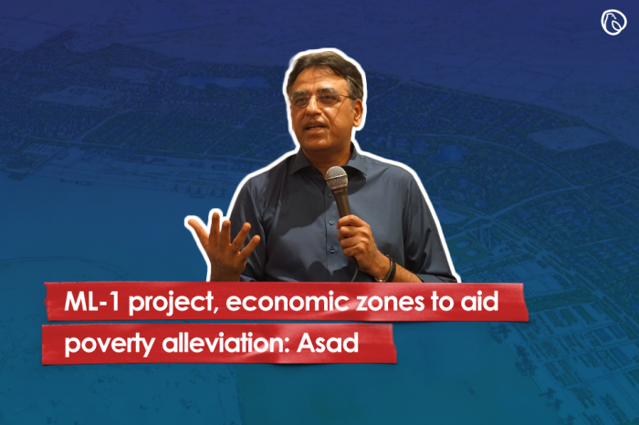 ML-1 project, economic zones to aid poverty alleviation: Asad