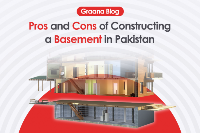 Pros and Cons of Constructing a Basement in Pakistan