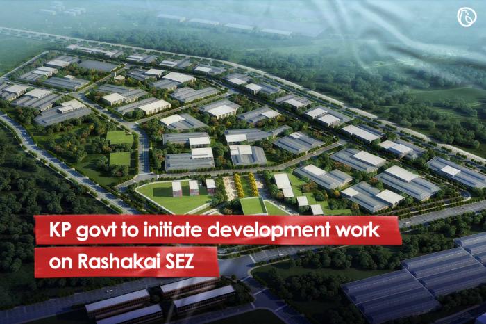 KP govt to initiate development work on Rashakai SEZ