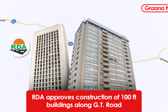 RDA approves construction of 100ft buildings along G.T. Road