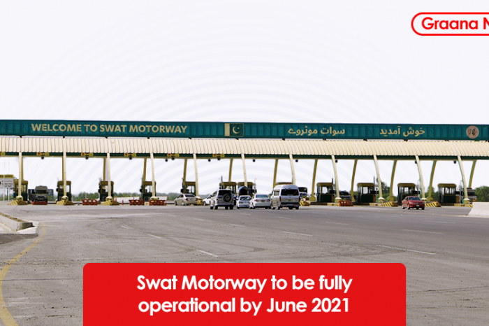 Swat Motorway to be fully operational by June 2021