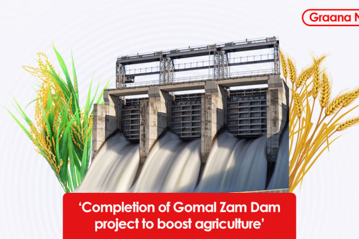 'Completion of Gomal Zam Dam project to boost agriculture'