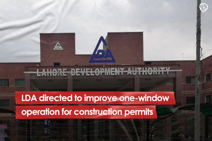 LDA directed to improve one-window operation for construction permits