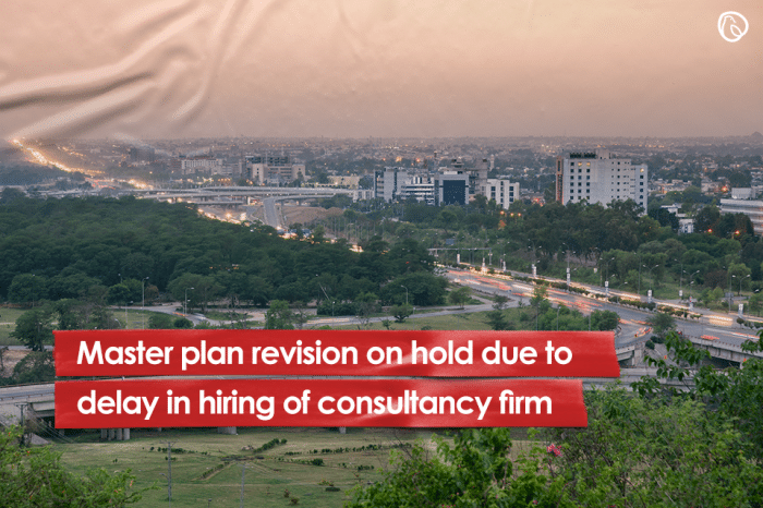Master plan revision on hold due to delay in hiring of consultancy firm