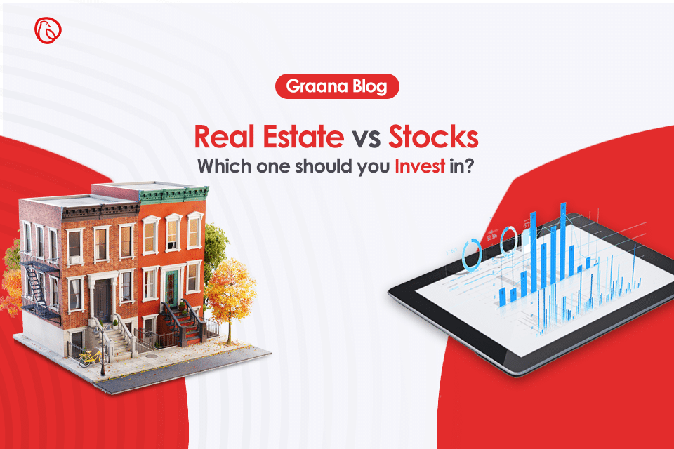 real estate vs stocks - in which to invest