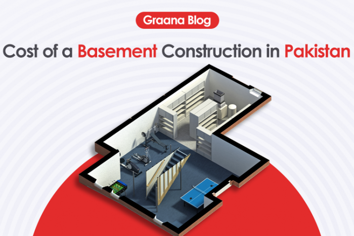Cost of a Basement Construction in Pakistan in 2020