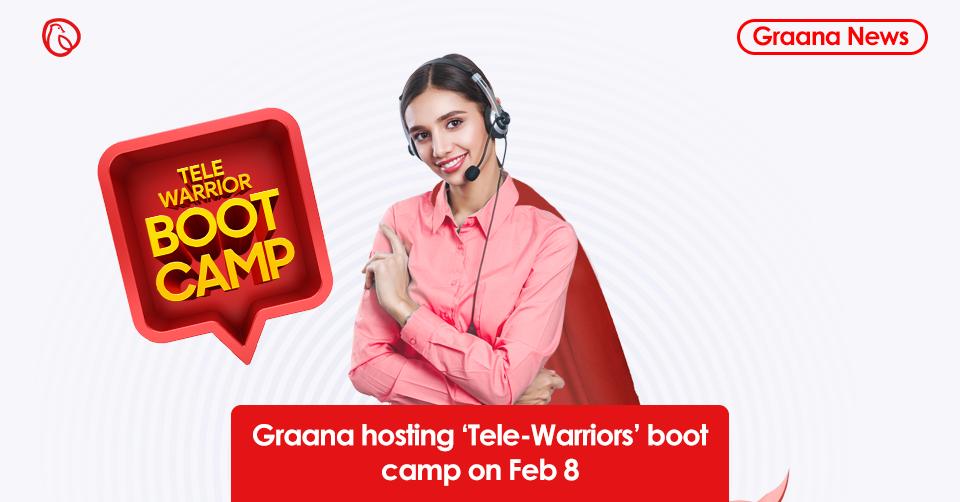 Graana.com hosting 'Tele-Warriors' boot camp on Feb 8