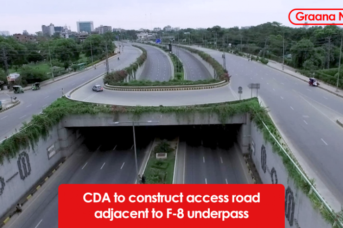 CDA to construct access road adjacent to F-8 underpass