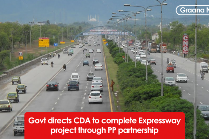 Govt directs CDA to complete Expressway project through PP partnership