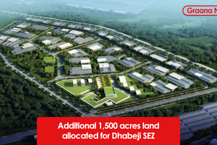 Additional 1,500 acres land allocated for Dhabeji SEZ