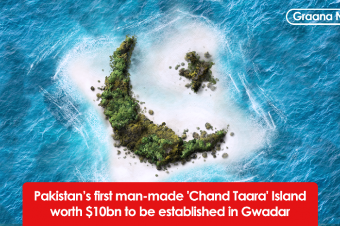 Pakistan's first man-made 'Chand Taara' Island worth $10bn to be established in Gwadar