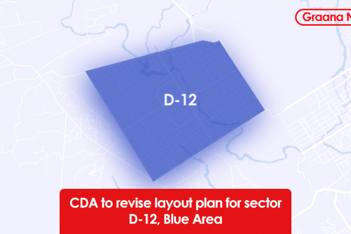 CDA to revise layout plan for sector D-12, Blue Area