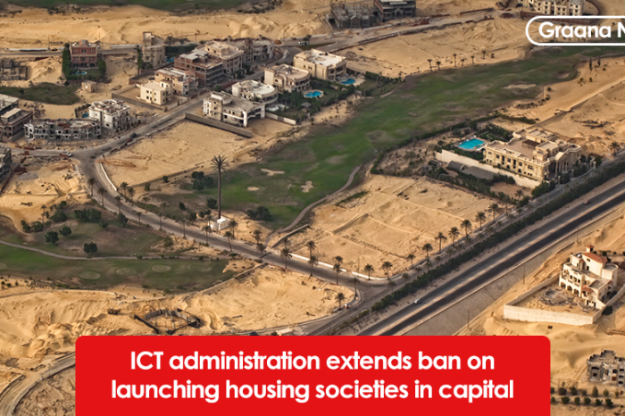 ICT administration extends ban on launching housing societies in capital