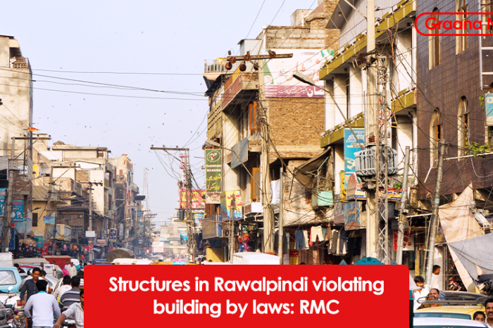 Structures in Rawalpindi violating building by laws: RMC