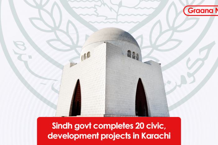 Sindh govt completes 20 civic, development projects in Karachi