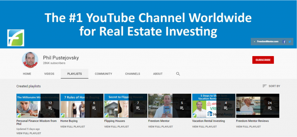 phil pustejovsky real estate youtube channel