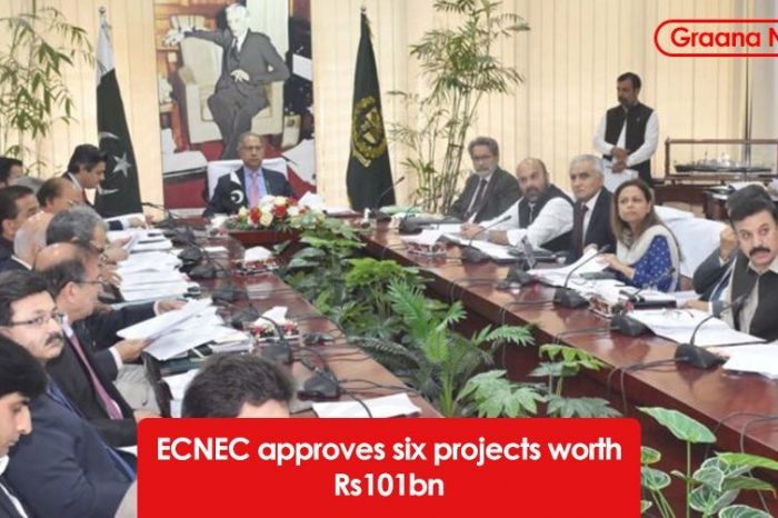 ECNEC approves six projects worth Rs101bn