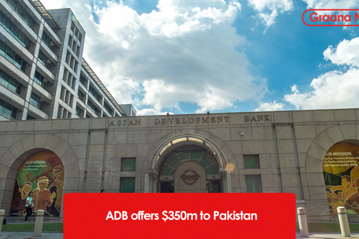 ADB offers $350mn to Pakistan