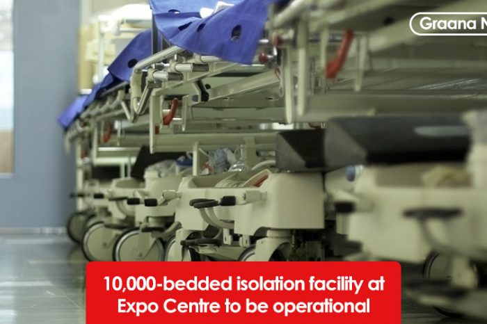 10,000-bedded isolation facility at Expo Centre to be operational soon