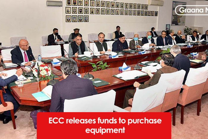 ECC releases funds to purchase equipment