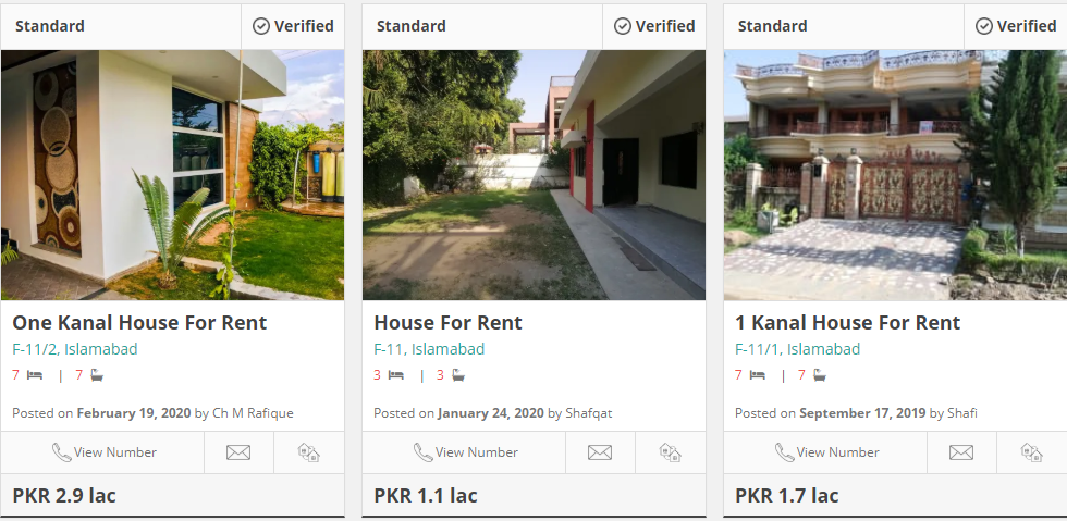 houses for rent in f-11 islamabad